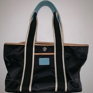 Coach dark navy coach Hamptons bag